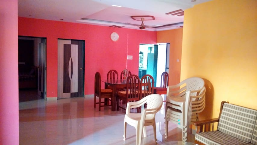 Bungalow in Alibaug- 2 KM from Mandwa Jetty - Dhokawade