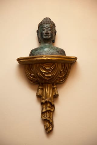 Cast bronze circa 1900. Treat yourself to the best of the best at the world renown BEALL MANSION.