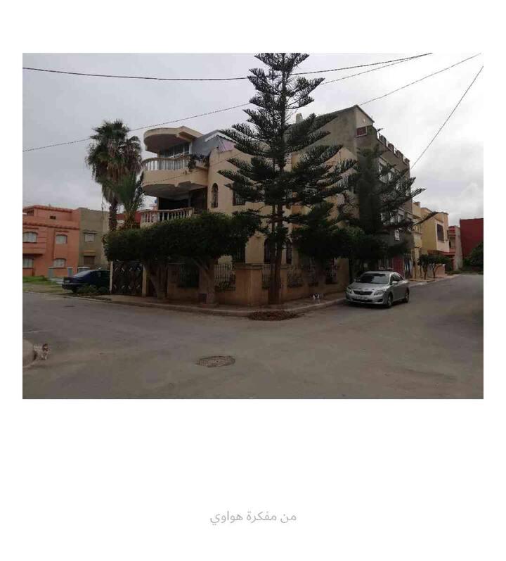 1er étage villa 3 façade centre-ville