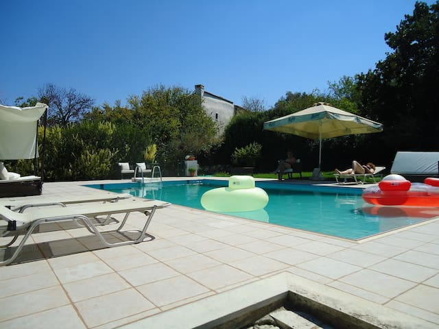 Rethymno country villa up to 12 persons