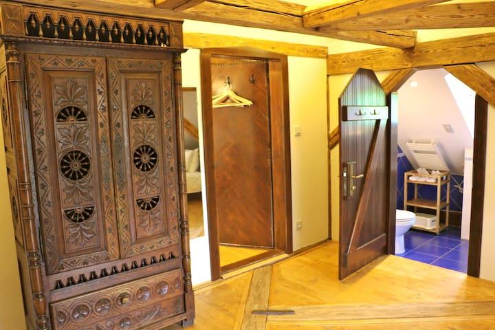 Clock tower room