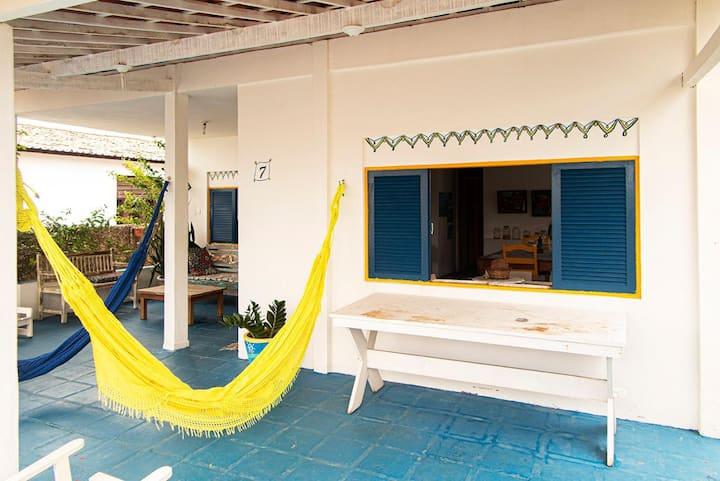 Brisa do mar em Pirangi. Casa 5 quartos, 3 suites.