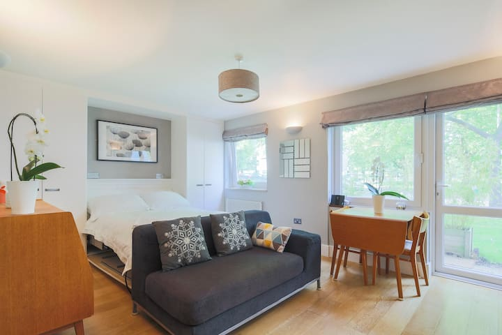 Bright Ground Floor Flat Next To Wandsworth Common