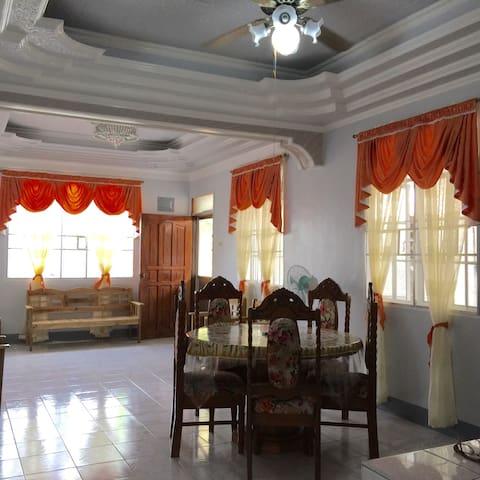 Front beach house in Deuro bohol