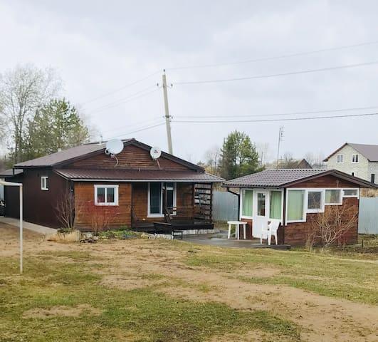 Финский ЭКО домик в курортной зоне Усть-Качка