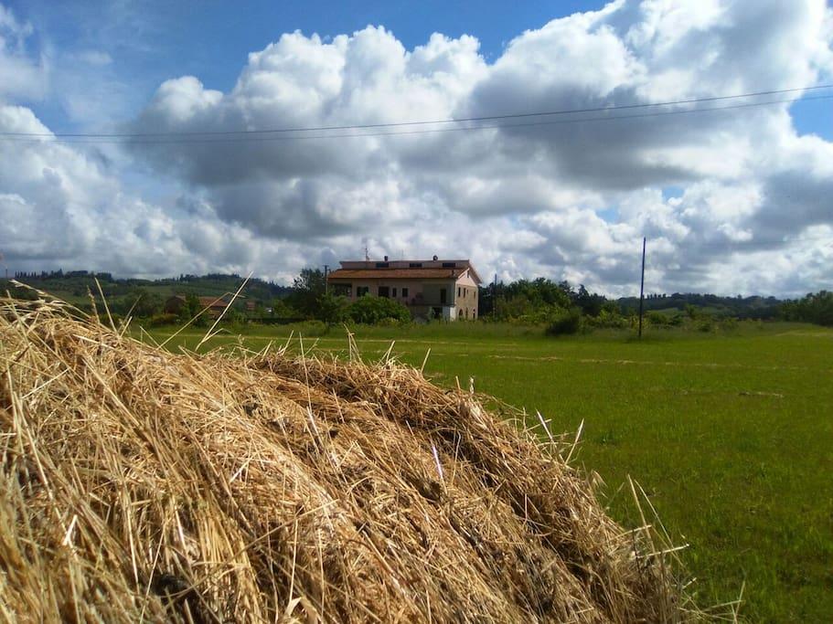 la casa dalla campagna