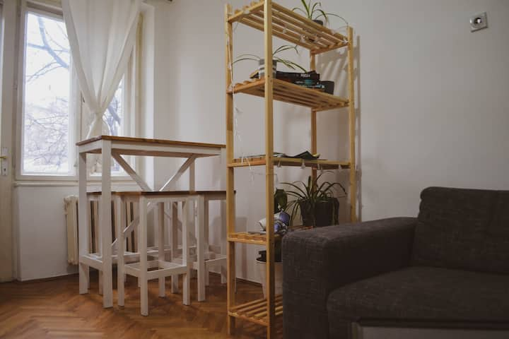 Balkan Room 3 (Private w/ King Size Bed&Balcony)