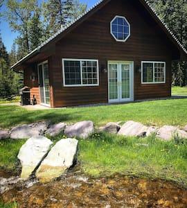 Beautiful Creekside Cabin - Blue Star Retreat Ctr