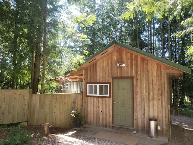 Rustic mini cabin