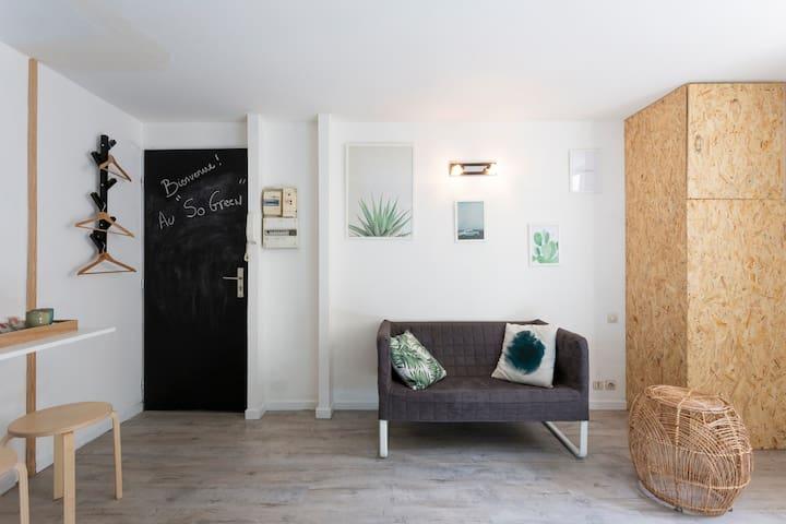«SO GREEN» Studio cosy
