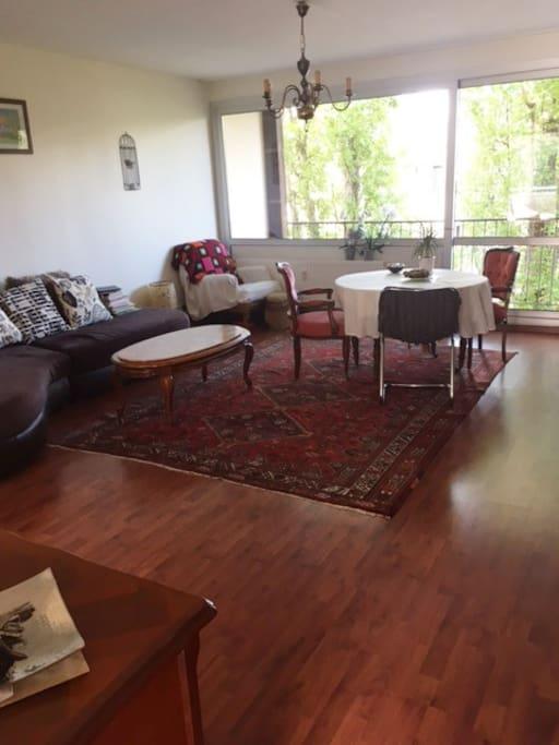 Salon et salle à manger / living dining room