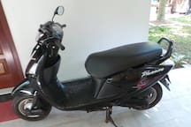 Our private scooter for rent