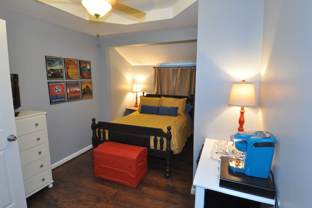 East nashville gem minutes from downtown guest suites Two bedroom suites in downtown nashville tn