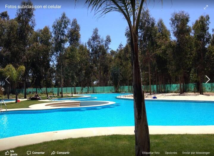 Departamento de descanso en Costa Algarrobo Norte