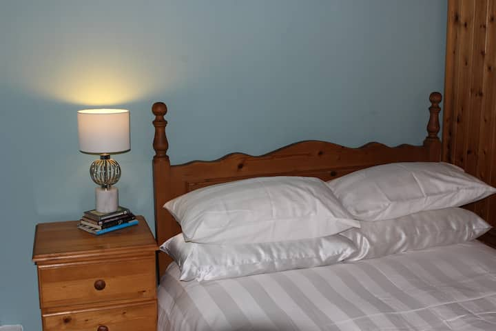 Centrally located bed & breakfast near sea front.