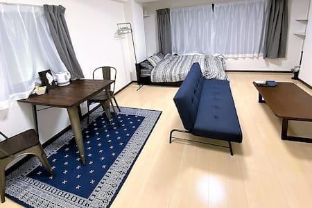 ②Stay center of KUMAMOTO/住所は下通!熊本の街ど真ん中の部屋12:00C.O