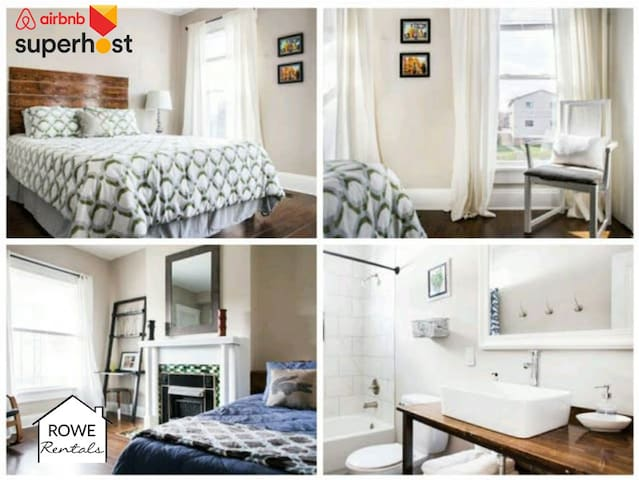 Cozy 3 Bed Short North, WiFi, Parking- RoweRentals