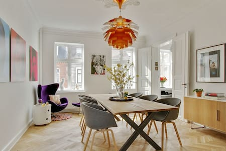 Superflot, moderniseret feinschmecker lejlighed - Appartement