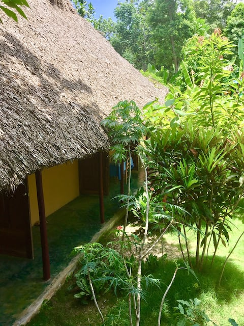 Uniquely and naturally designed rooms in Jacmel
