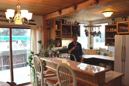 Randy's at Red in Rossland (Cozy back room)