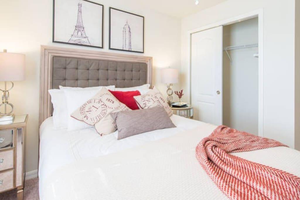 Suites amplas e confortáveis