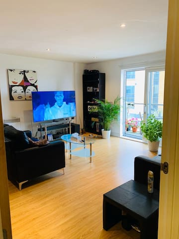modern apartment near old Trafford
