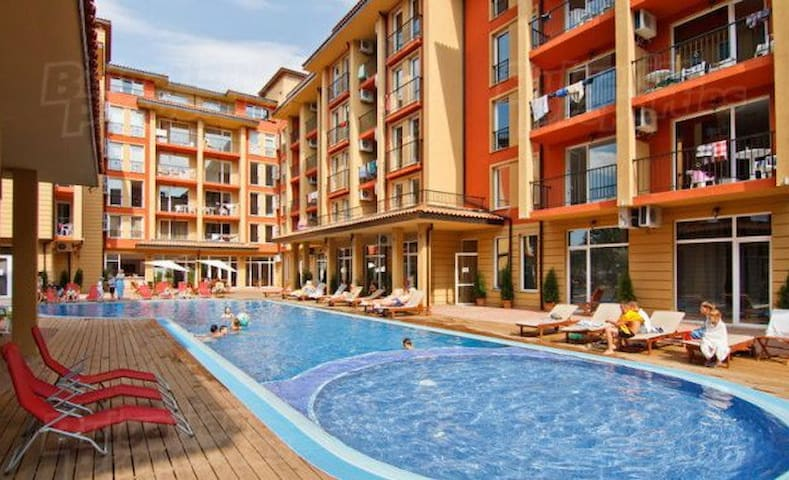 Studio, Sunny Beach, Sunny View Central - Sunny Beach - Apartamento