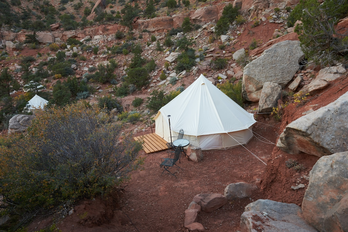 Zion Gl&ing Adventure - Tent 6 - Tents for Rent in Hurricane Utah United States & Zion Glamping Adventure - Tent 6 - Tents for Rent in Hurricane ...