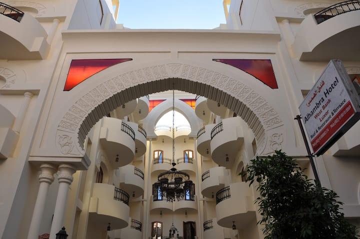 Alhambra Hotel Luxor West Bank