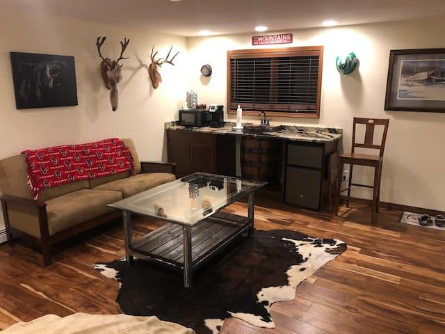 Kitchenette/ living area