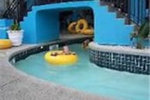 300' in door lazy river ride