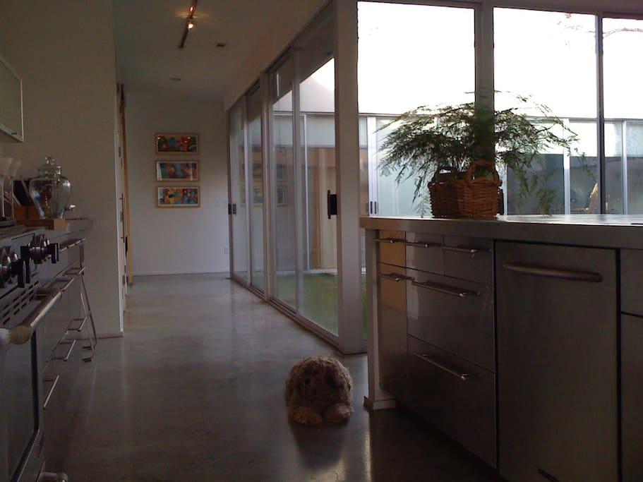 Hallway to Guest Suite