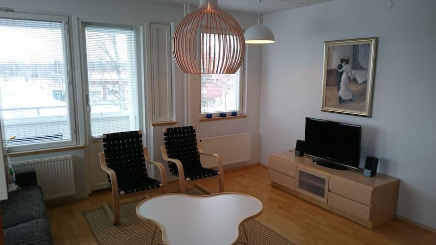54 m² kaksio