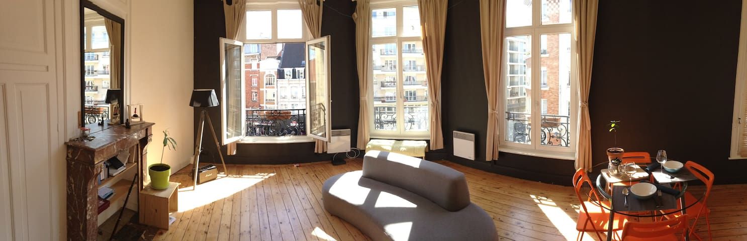 Appartement T2 55m² hyper-centre, zone piétonne! - Lille - Appartement