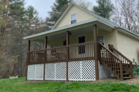 Laurel Hill Cottage, entire house,  stocked stream