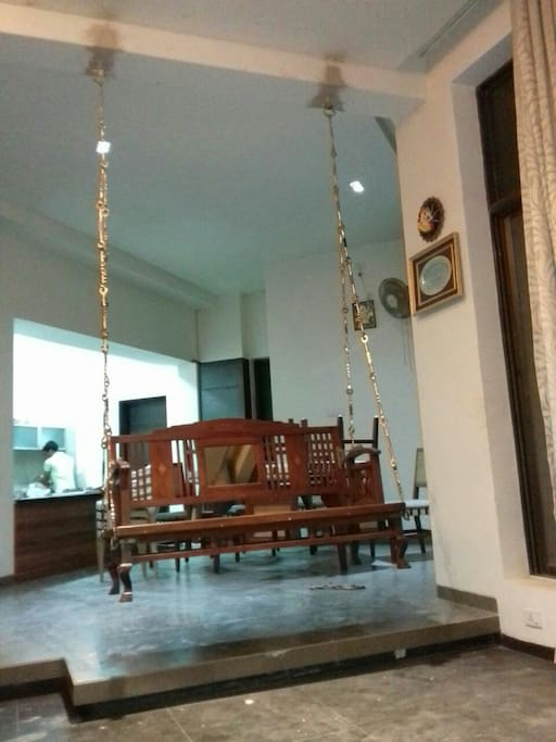 The Swing in the Living room