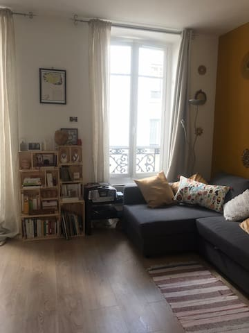 Appartement dans le quartier de Bastille (Paris)