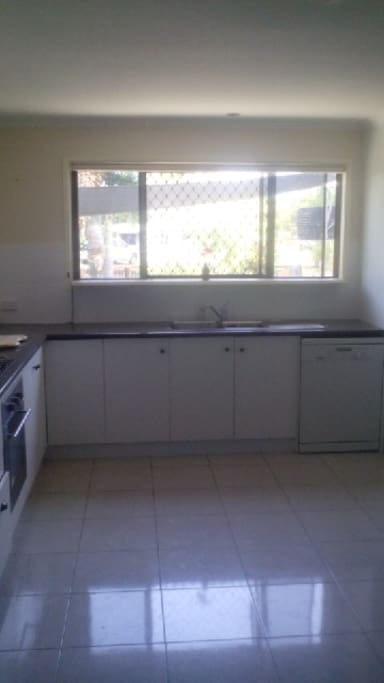 Huge kitchen with dishwasher and all cooking appliances