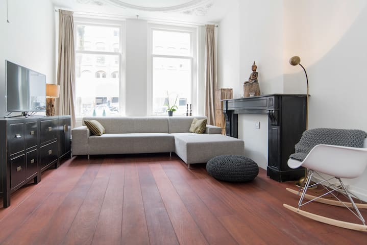 Spacious and unique apartment 85m2 with garden - Amsterdam - Ortak mülk