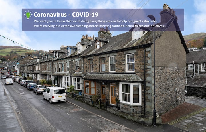 2BR - 1.5BA - Town Centre - Parking - Ambleside