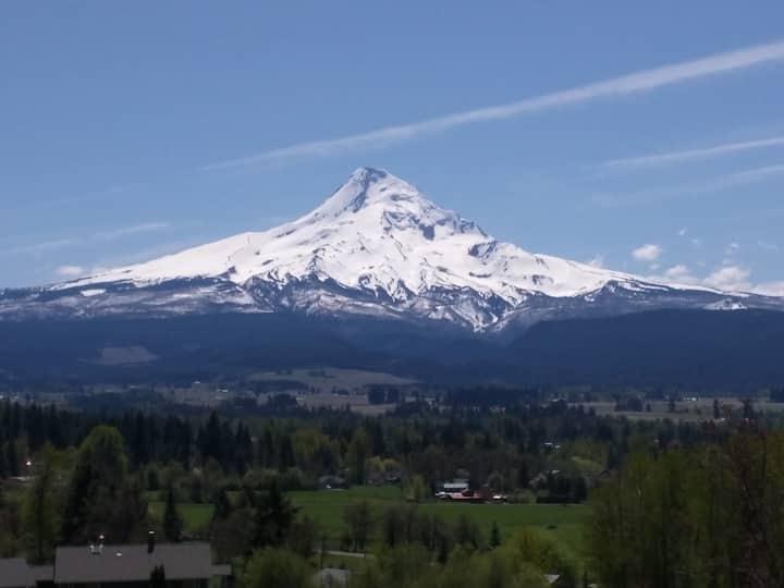 Amazing view of Mt. Hood!