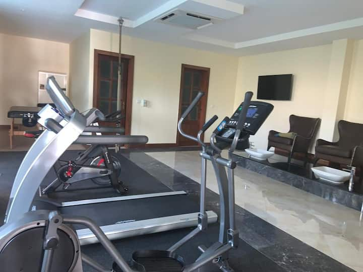 SALAAM LETTING CELEBRITY VILLA (GYM& SWIMING POOL)