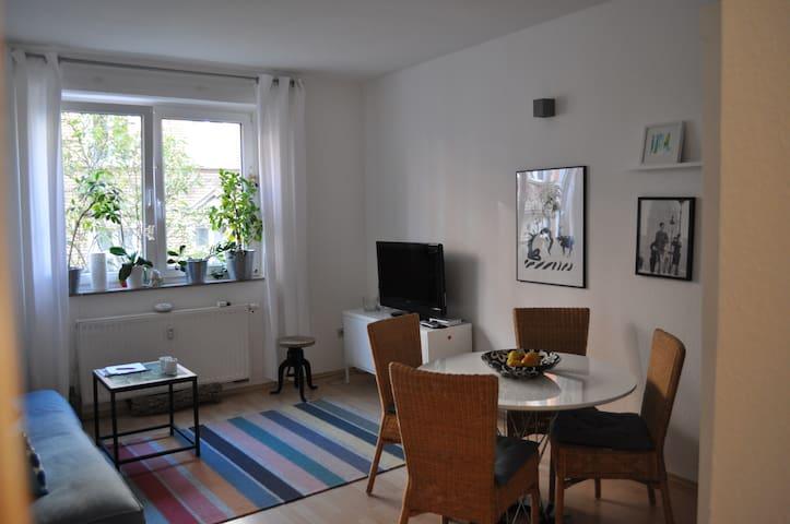 Gemütliche Stadtwohnung im Nauwieser Viertel - Saarbrücken - Condominium