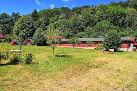 Fajna Farma na samotě u lesa