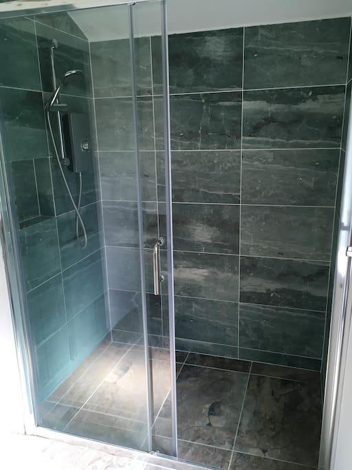 Modern high pressure shower