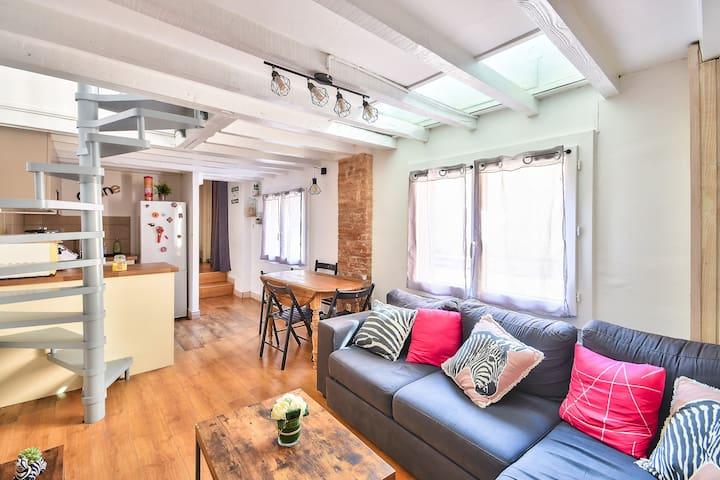 Appartement pour 4 personnes en plein centre ville