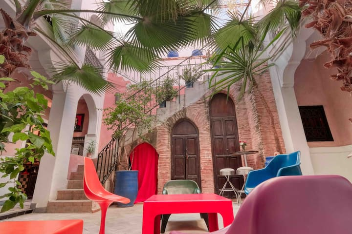 4# The Room in the Wall @Riad Rockech