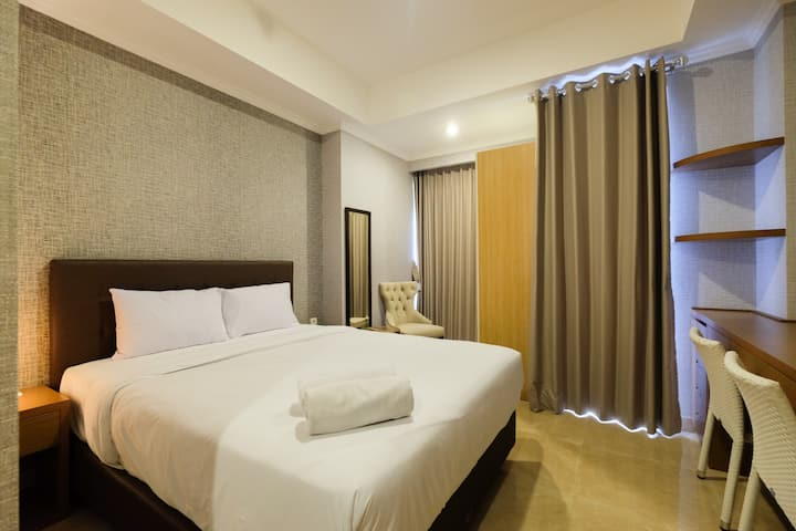 Luxurious Studio at Menteng Park Apartment