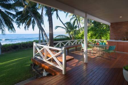 *Ocean Front*Puako*Old Hawaii at its Best*Pool/Spa*Amazing Ocean Sunset Views* - Kamuela - 단독주택