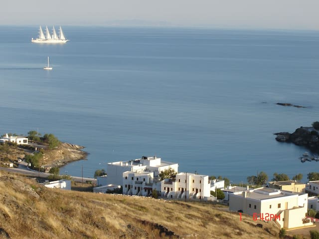 Farm accommodation at M. Gialos - Syros - Apartamento